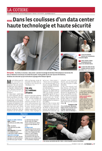 Article Inauguration One System Journal LE PROGRES