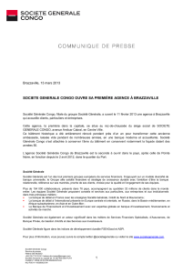 SOCIETE GENERALE - Journal de Brazza