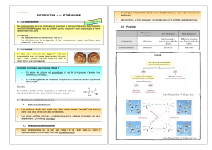 resume stereochimie - Physique