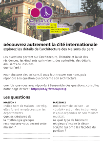 Découvrez les questions - Alliance Internationale