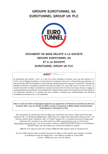 groupe eurotunnel sa eurotunnel group uk plc