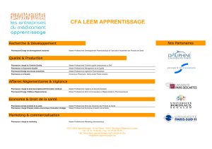 CFA LEEM APPRENTISSAGE
