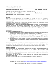 Offre de Stage BAC+5 – EDF Contact : Marion ALAYRAC (mailto