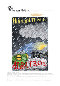 Production : HUMANI THEATRE Co-production : Sortie Ouest