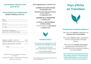 Pays d`Arles en Transition