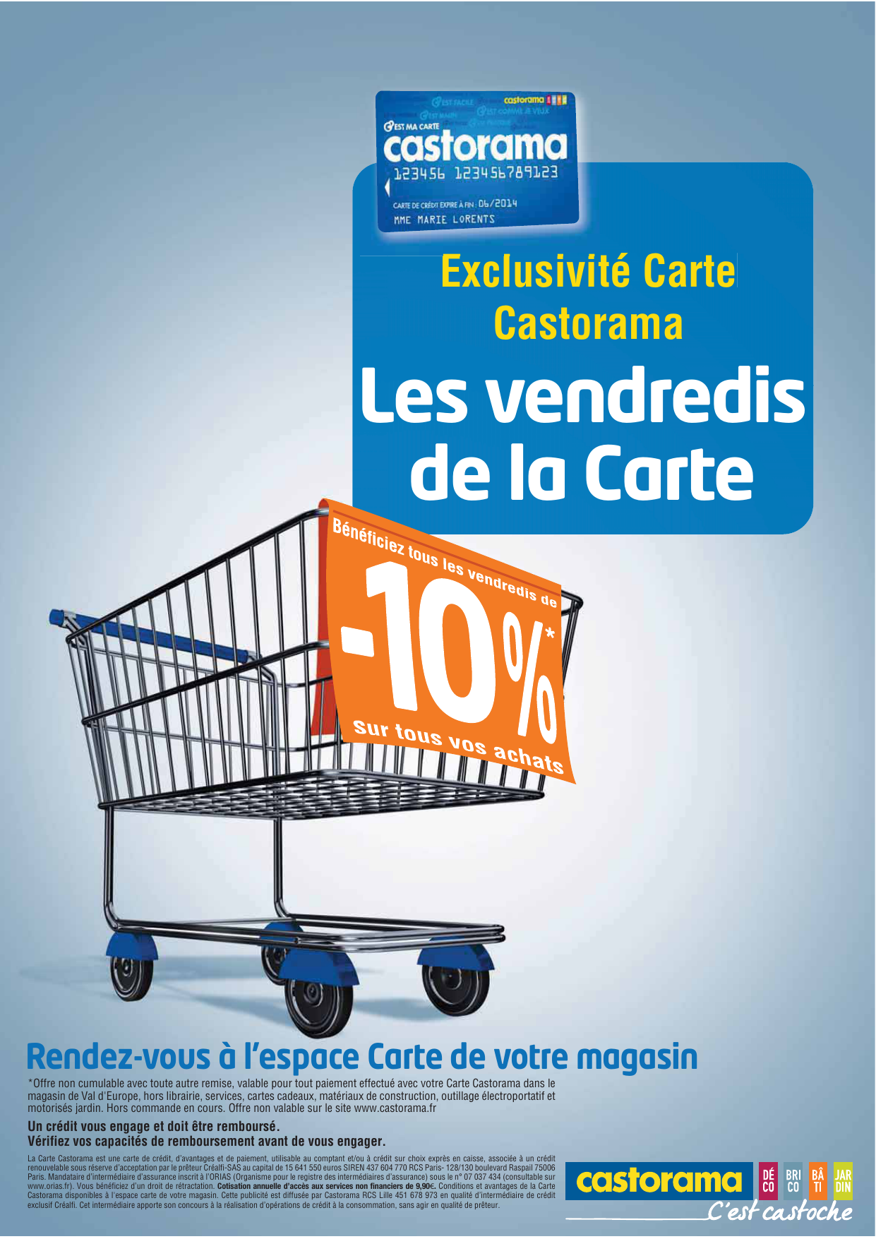 Castorama Carte Des Magasins.Les Vendredis De La Carte