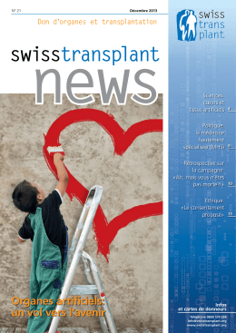 news - Swisstransplant