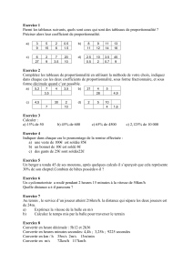 Exercice 1 - Dimension K
