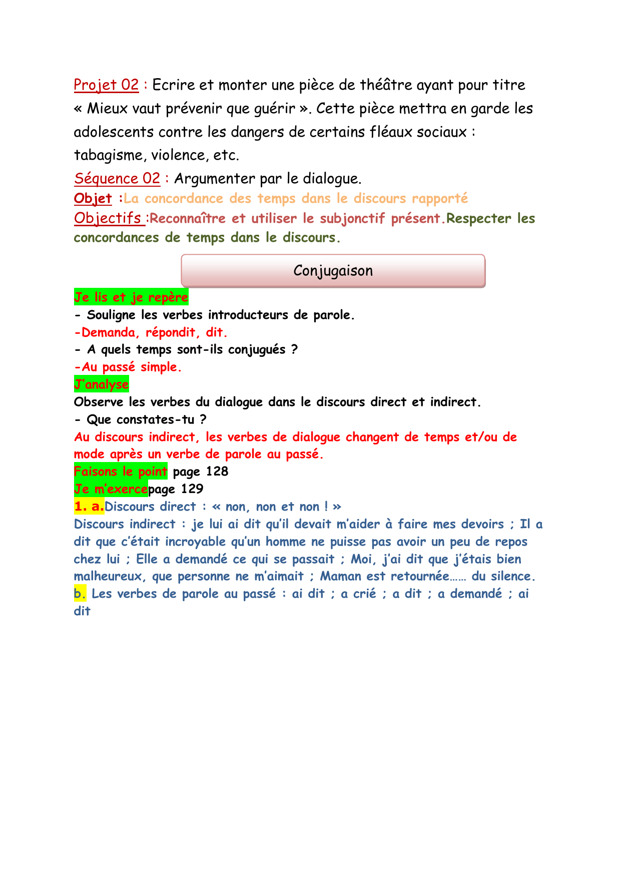 Projet 02 S2 Conjugaison