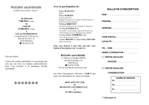 bulletin d`inscription - Renouveau Charismatique