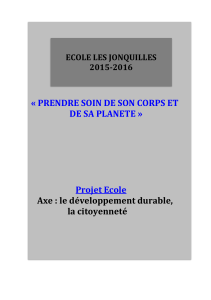 projet develop durable