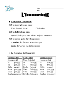 L`imparfait - WordPress.com