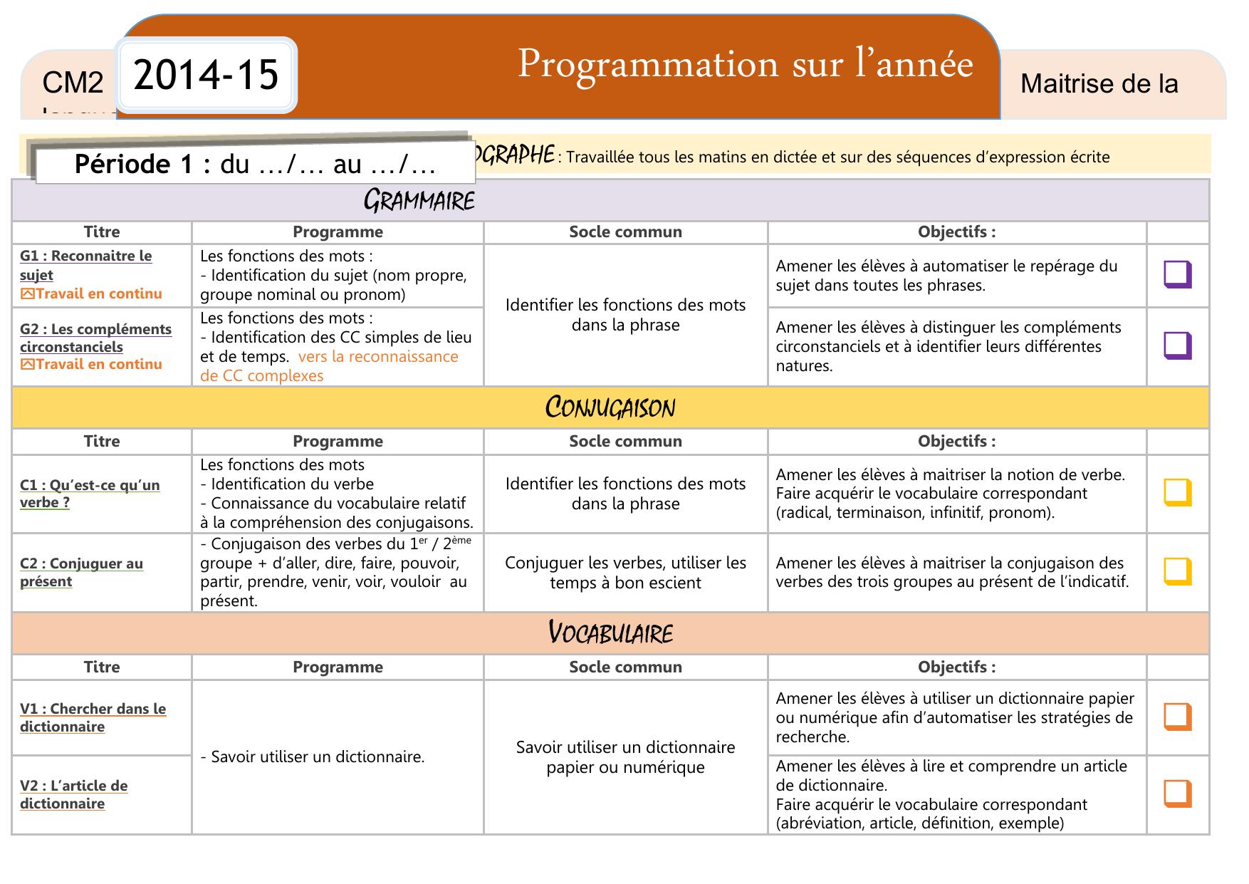Programmation Francais Sur L