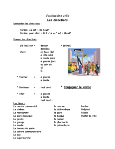 Vocabulaire utile