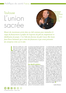 Toulouse : L`union sacrée