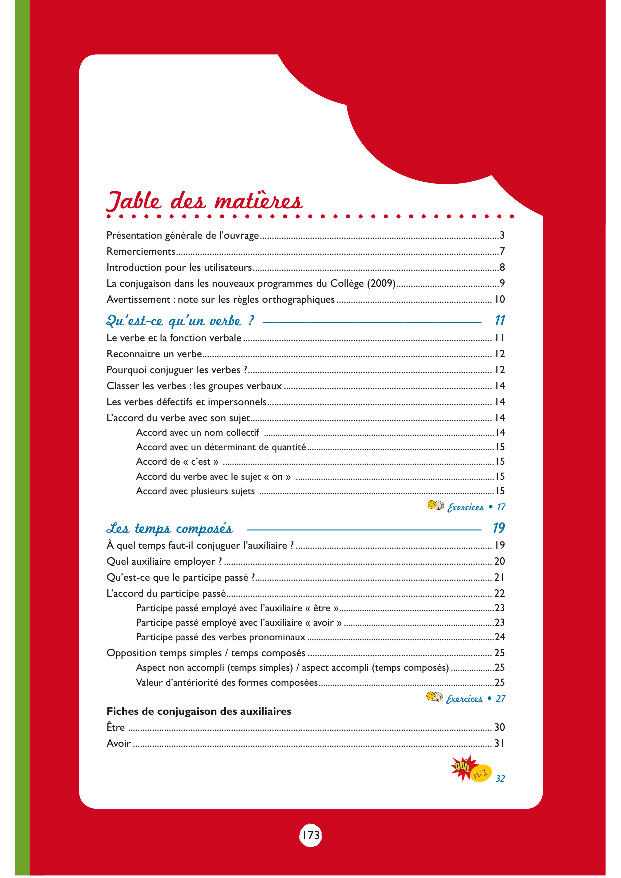 Table Des Matieres Editions Ellipses
