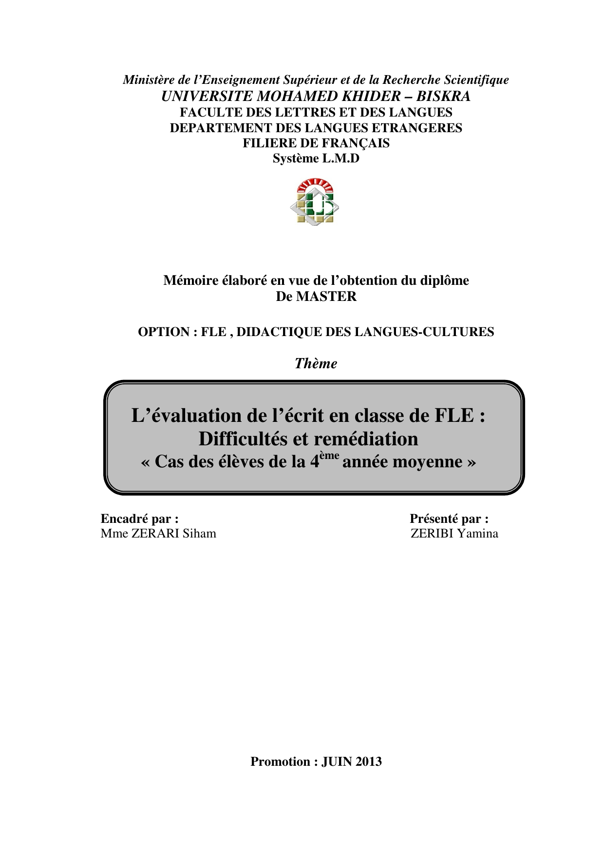 L Evaluation De L Ecrit En Classe De Fle