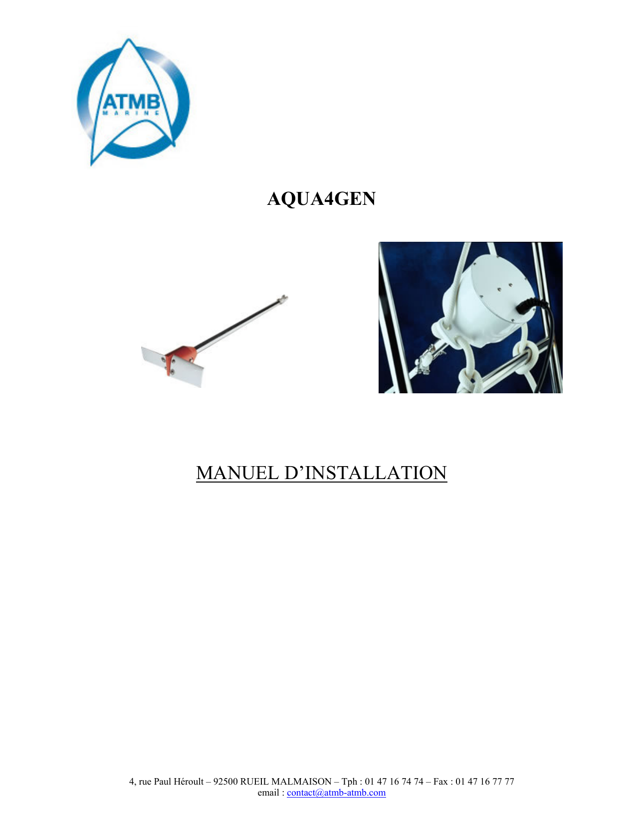 Aqua4gen Manuel Dinstallation Adverc Wiring Diagram