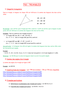 TG1-Triangles - Maths Avesnes