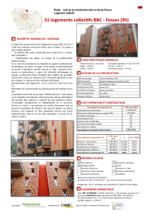 31 logements collectifs BBC - Fosses (95)