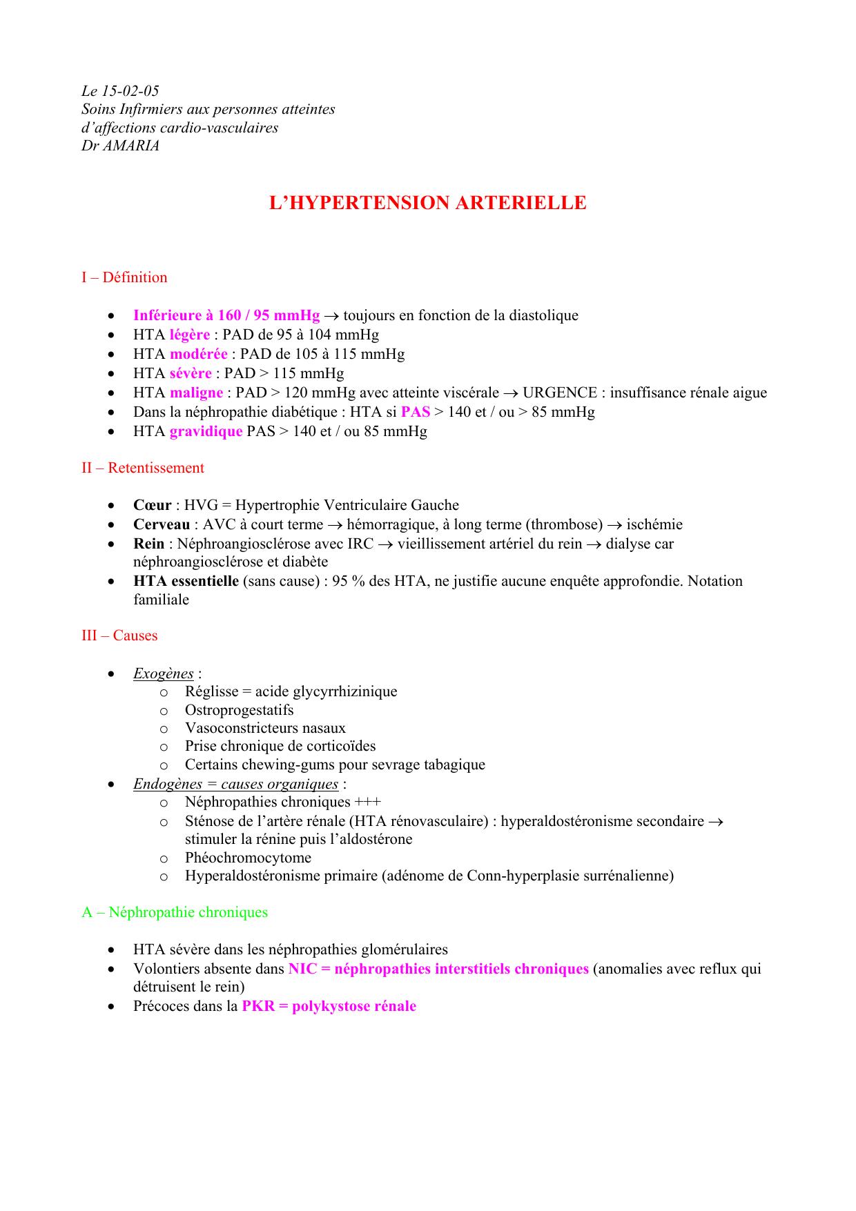 catécholamines urinaires phéochromocytome
