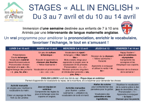 stage anglais pâques 2017.pages
