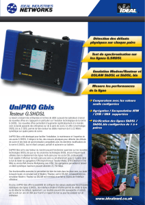 UniPRO Gbis - SLV Equipements
