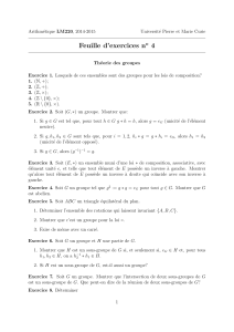 Fiche d`exercices n°4 - IMJ-PRG