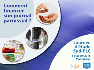 comment financer son journal?