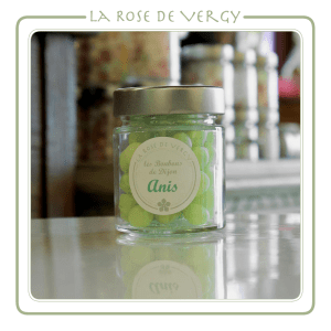 bonbons de dijon - La Rose de vergy