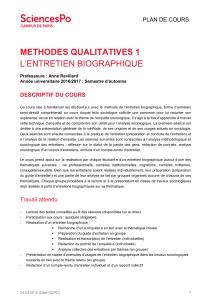 methodes qualitatives 1 l`entretien biographique