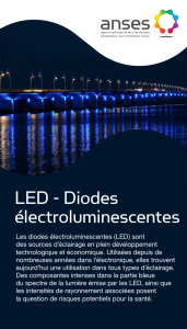 LED - Diodes électroluminescentes