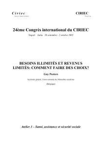 24ème Congrès international du CIRIEC