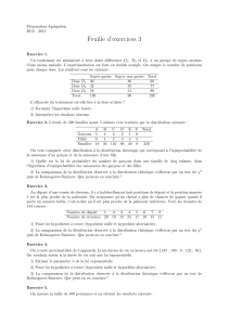 Statistiques : Tests d`hypothese