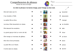 13. ACTIONS - le sens des phrases