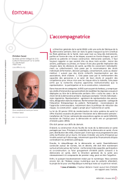 L`accompagnatrice - John Libbey Eurotext