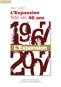 L`Expansion - Communication et Compagnie