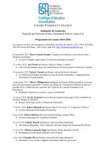 Programme - Université Paris 1 Panthéon
