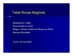 Table Ronde Maghreb