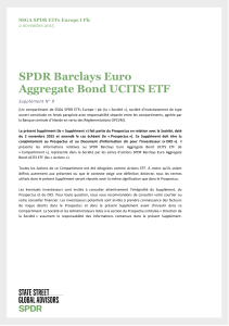 SPDR Barclays Euro Aggregate Bond UCITS ETF