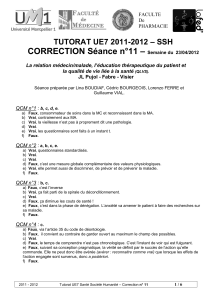– CORRECTION Séance n°11 – SSH