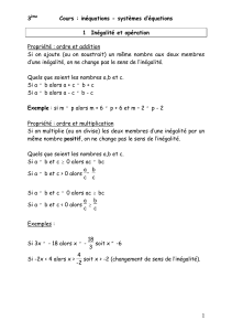 cours inequations systemes d equations