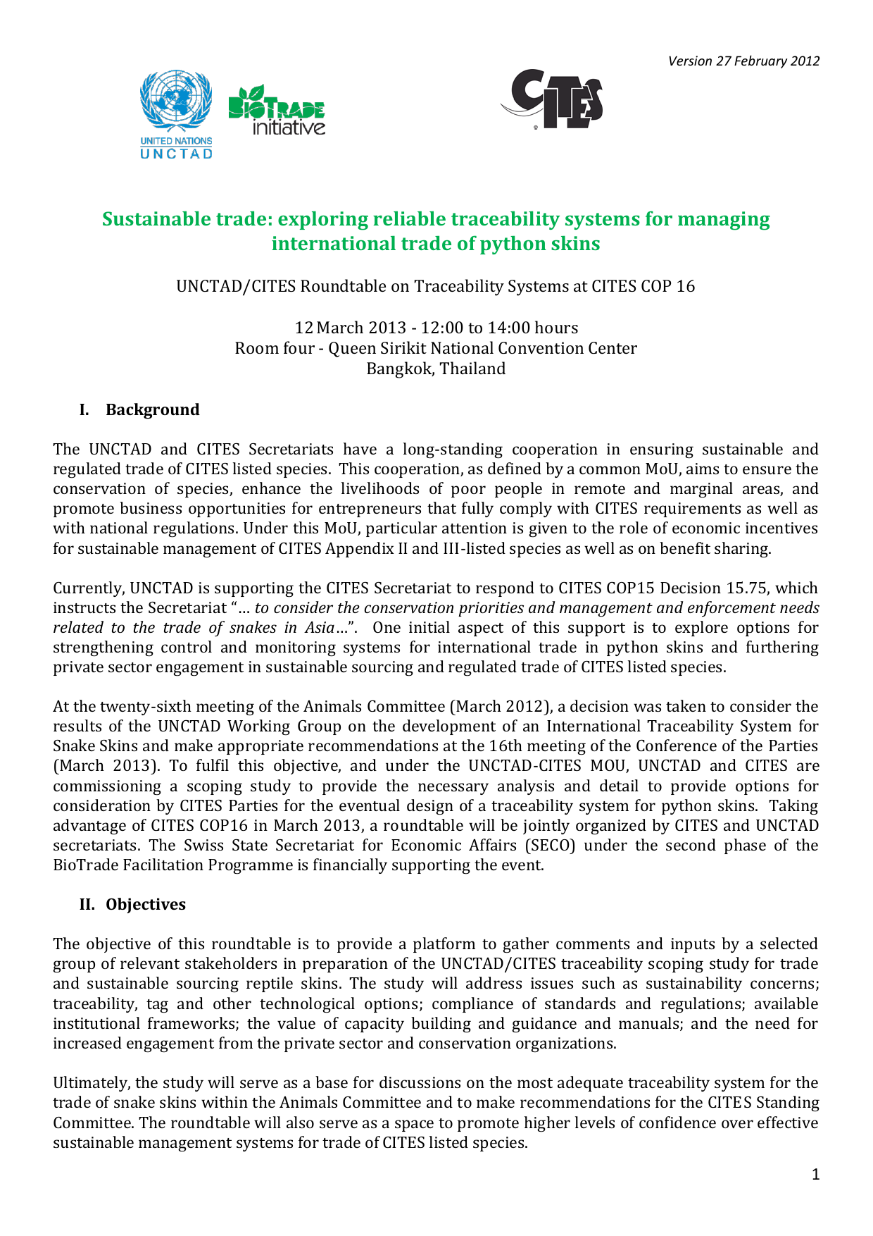 Sustainable trade: exploring reliable traceability systems