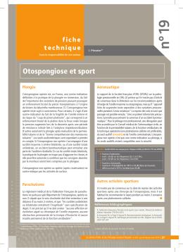 Otospongiose : imagerie et nouvelles technologies