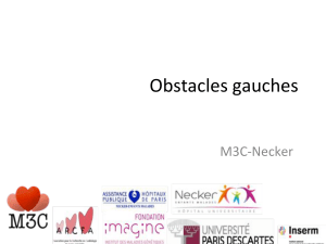 Obstacles)gauches) M3C0Necker)