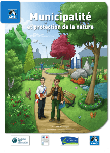 Municipalité et protection de la nature Anthony Boureau LPO Loire-Atlantique