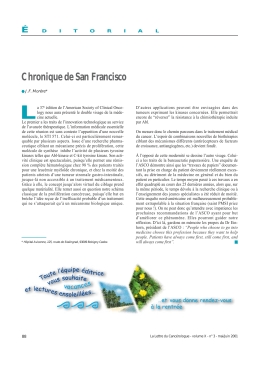 L Chronique de San Francisco É