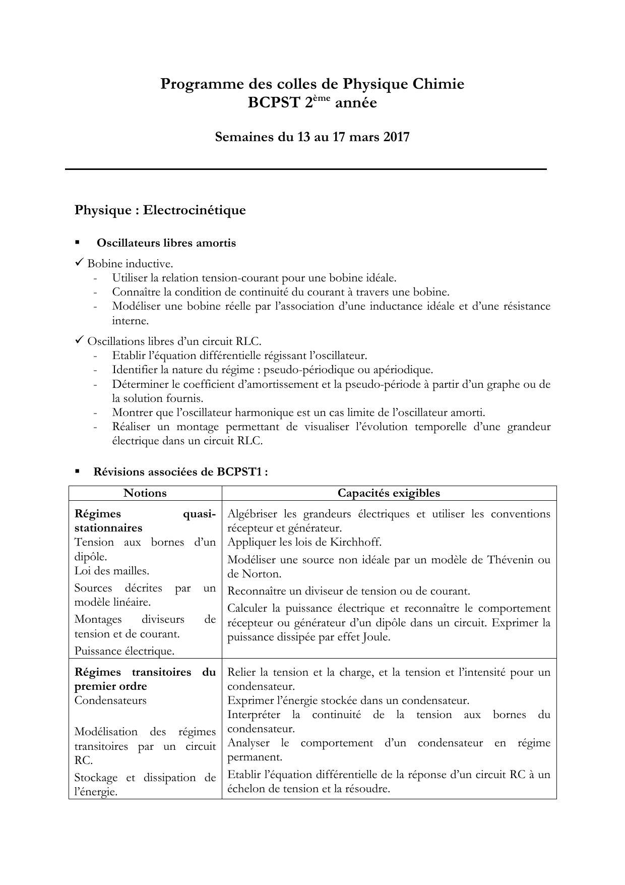 programme bcpst 1