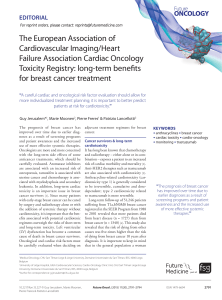The European Association of Cardiovascular Imaging/Heart Failure Association Cardiac Oncology