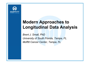 Modern Approaches to Longitudinal Data Analysis